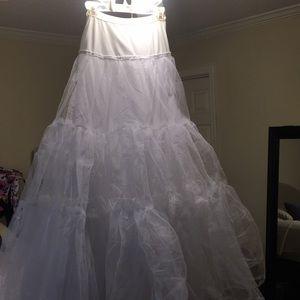 David's Bridal Ball Gown slip